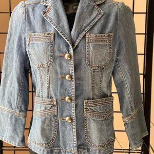 BANANA REPUBLIC Denim Jacket Size 4